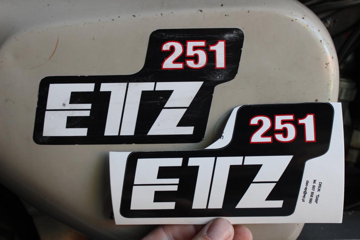 Mz Etz 251 1989 Museumshof No 31